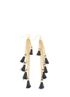 Swish 'N Swing Tassel Earrings