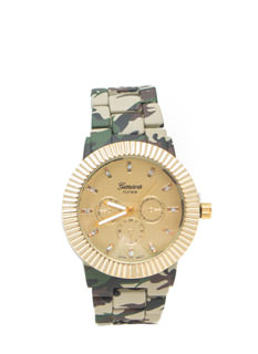 Brigade Beauty Camo Boyfriend Watch