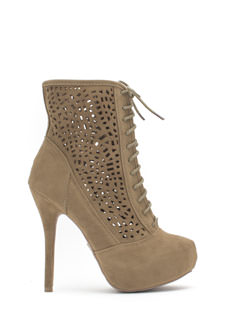 Holey Spirit Perforated Booties