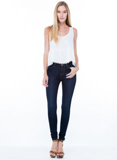 Classic Stone Wash Skinny Jeans