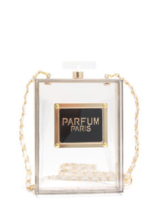 Parfum Paris Perfume Bottle Box Clutch