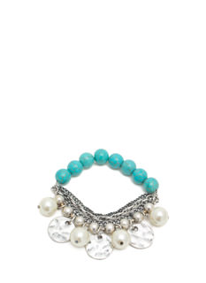 Pearly Whites Layered Bracelet