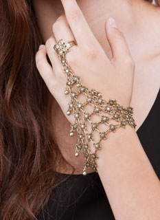 You've Got Chainmail Hand Bracelet
