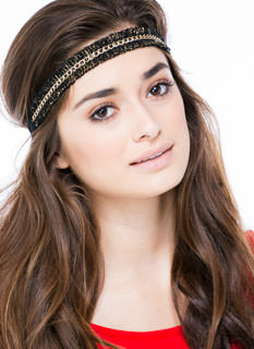 Loopy Fringe Chain Headband