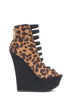 Ladder To The Top Platform Wedges
