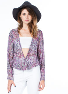 Hippie Chic Bell Sleeve Blouse