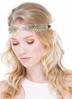Olive Branch Textured Headband