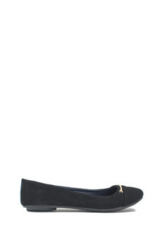 Bar Hopper Faux Nubuck Flats