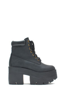 Take Over Lace-Up Platform Boots