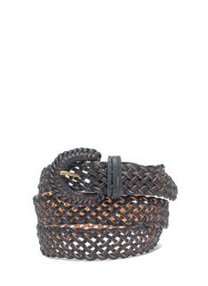 Braided Babe Faux Leather Belt
