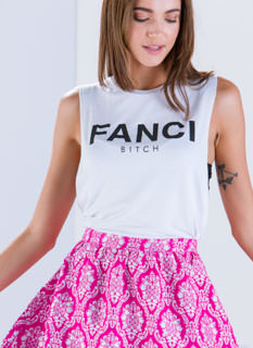 I'm So Fanci Muscle Tee Tank Top