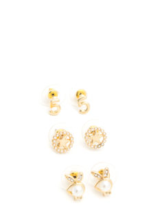 Lucky Charm Earring Set
