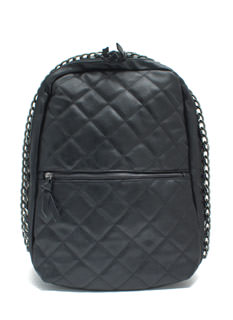 Quilty Conscience Faux Leather Backpack