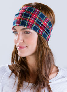 Queen Of Tartan Headband