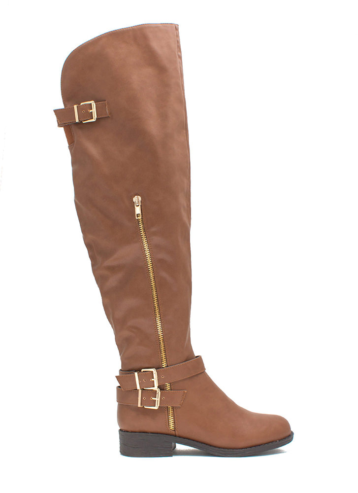 Quest 4 Chic Over-The-Knee Boots