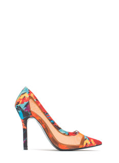 Mesh Around Abstract Pointy Heels