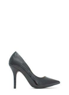 Bare Necessity Plain Pointy Heels