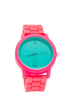 Contrast Killer Silicone Watch