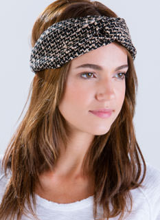 Knotty Girl Boucle Headband