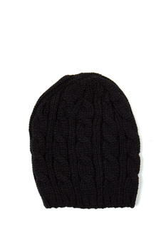 CC Cable Knit Beanie