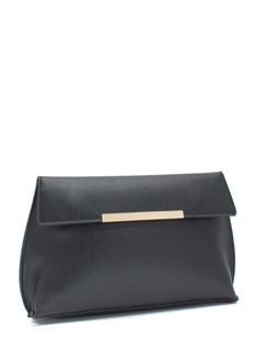 Chic Night Out Faux Leather Clutch