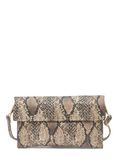 Come Slither Snake Scale Clutch