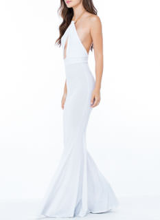 Chain-ge It Up Halter Mermaid Maxi