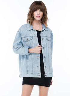 Good Jeans Oversized Denim Jacket