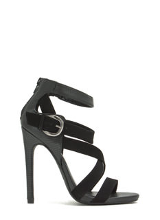 Strap-py Day Stiletto Heels