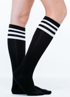 Earn Your Stripes Knee-High Socks