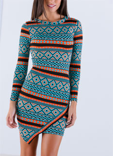 Diamonds On My Mind Tribal Dress