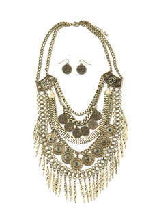 Tribal's All Here Necklace Set