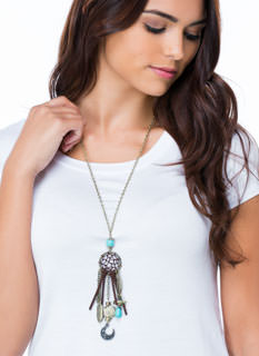 Charmed Life Dream Catcher Necklace
