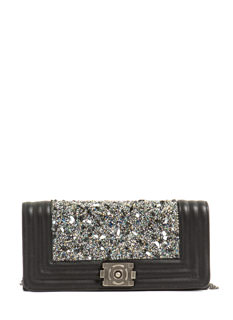 Stones 'N Beads Quilted Clutch