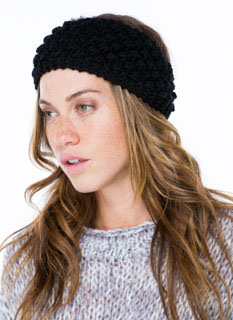 Sweater Weather Buttoned Headband