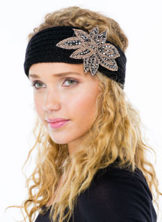 Sweater Weather Beaded Headband