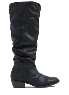 Slouch In Chunky Boots