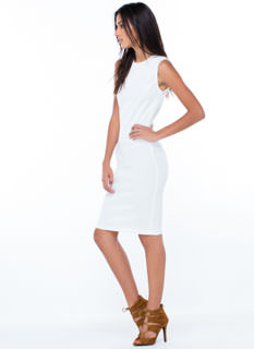 Classic Addition Ribbed Knit Dress