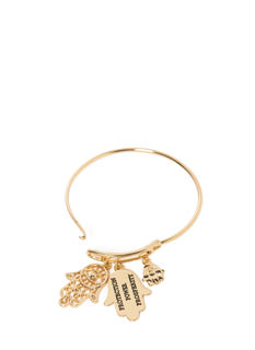 Hand It Over Hamsa Charm Bracelet
