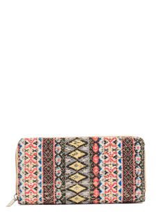 Little Bits Sequin Tribal Wallet