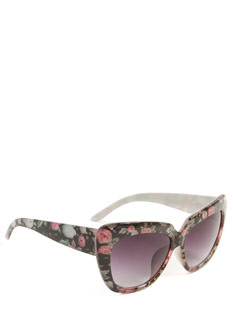 Floral Believer Sunglasses