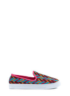 Take It Or Weave It Slip-On Sneakers