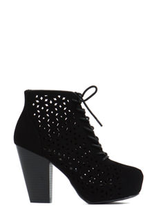 You're It Faux Nubuck Booties