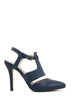 Haute Day Faux Leather Heels