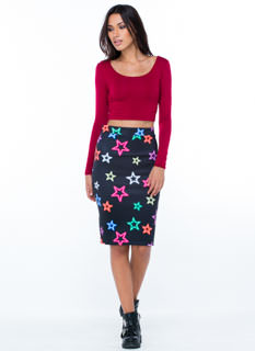 All Stars Pencil Skirt