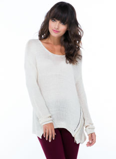 Make It Two Zippered Knit Sweater