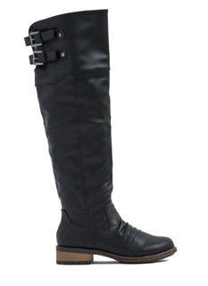 Kickin' It Faux Leather Boots