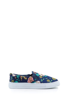 Go With The Floral Slip-On Sneakers