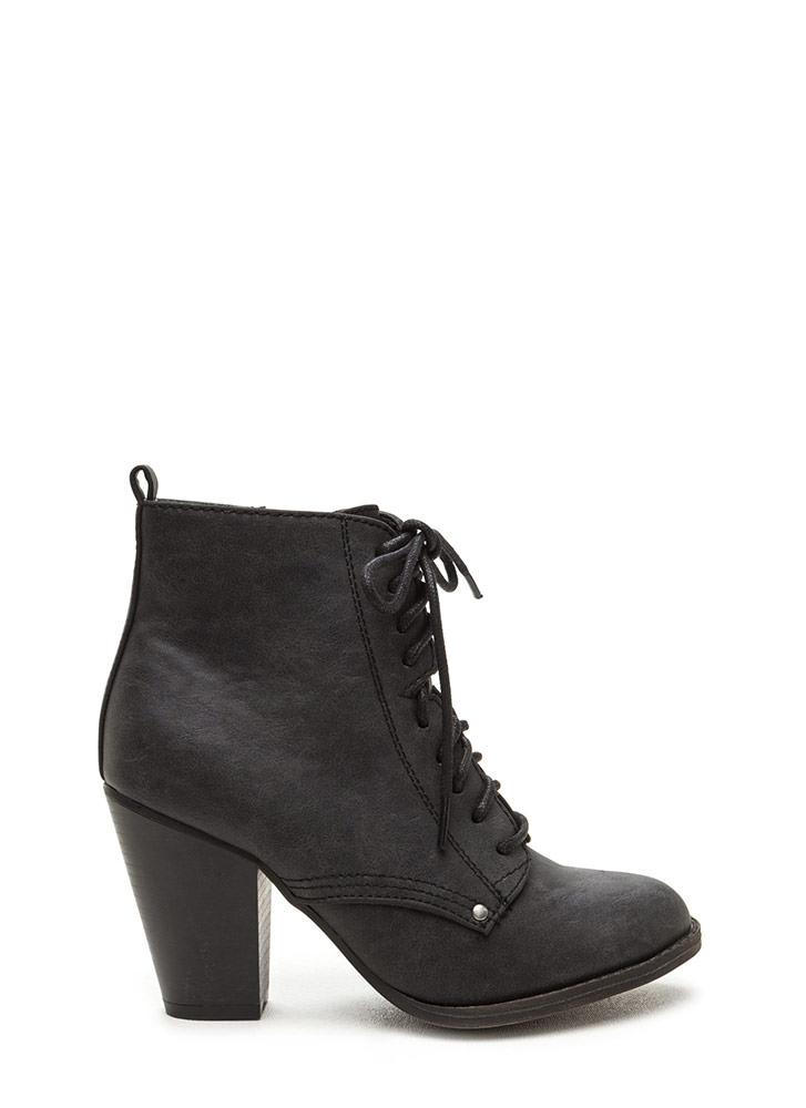 Complete Me Faux Leather Booties
