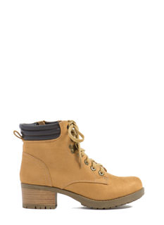 Concrete Jungle Lace-Up Boots